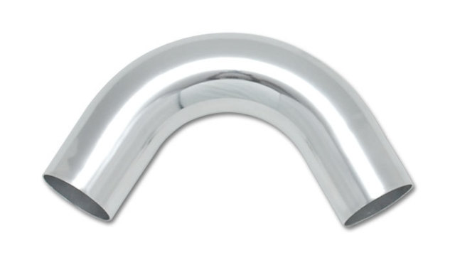 Aluminum Tubing Bend - 120 Degree - Mandrel - 3 in Diameter - 4-1/2 in Radius - 2-1/2 in Legs - Aluminum - Polished - Each