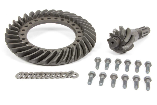 Ring and Pinion - 4.86 Ratio - 10 Spline - Steel - Winters 12-Bolt 10 in Quick Change - Kit