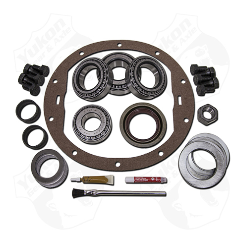 Differential Installation Kit - Bearings / Crush Sleeve / Gaskets / Hardware / Seals / Shims / Thread Locker - 8.6 in - GM 10-Bolt - Kit