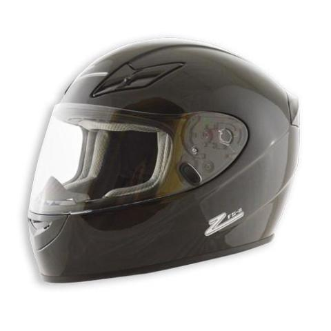 Helmet - FS-8 Solid - DOT / Snell M2015 - Black - Large - Each