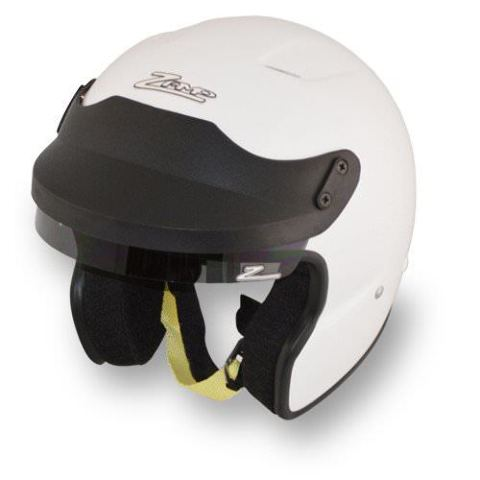 Helmet - JA-3 - Snell SA2015 - Head and Neck Restraint Ready - White - Large - Each
