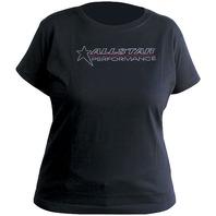 T-Shirt - Rhinestone - Allstar Logo - Black - X-Large - Each