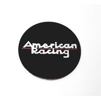 American Racing Logo Satin Black ARLOGOA64-SBSL