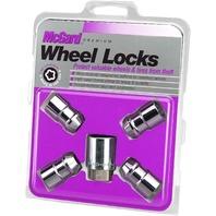 "McGard 24198 Chrome Cone Seat Wheel Locks (1/2"" - 20 Thread Size) - Set of 4"