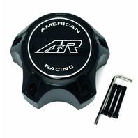 American Racing 890 Wheel Center Hub Cap Satin Black CARA1455SB for 5x5.5 Wheels