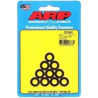 """ARP 200-8643 Black 8mm ID x .575"""" OD Washer - 10 Piece"""