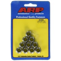 "ARP 400-8332 3/8""-24 Stainless Steel Nut - 10 Piece"