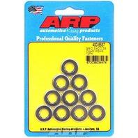 """ARP 400-8537 3/8"""" ID x 3/4"""" OD Stainless Steel Flat Washer - 10 Piece"""