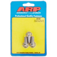 ARP 4306801 Stainless Steel 3-Piece Lower Pulley Bolt Kit