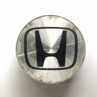 "Honda Wheel Center Hub Cap Silver Machined 2.75"" OEM 44732"