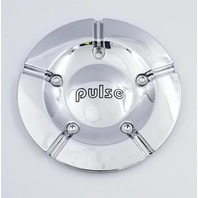 Pulse Aftermarket Chrome Wheel Center Cap 581L154 S512-17