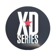 "KMC 3 1/16"" (78mm) OD Black Wheel Center Hub Cap XD Series Logo Sticker"