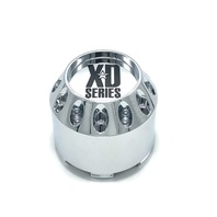 "KMC XD Series Wheel Center Hub Cap 2.95"" Chrome Snap In for XD779 786 795 464K75"