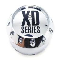 "KMC XD Series Chrome Snap In 3.85"" Center Cap for XD779 XD786 XD795 P/N 464K98"