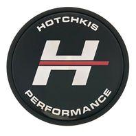"Hotchkis Performance Wheel Center Hub Cap 2-5/8"" Diameter Black Silver CAP-CTC1"