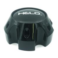 Helo Gloss Black Wheel Center Hub Cap 6 Lug 6x139.7 6x5.5 for HE879 HE900