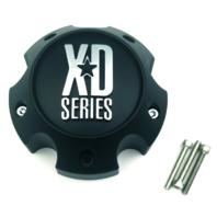 KMC XD Series 796 797 798 Matte Black 5 Lug Wheel Rim Center Cap 1079L145AMB