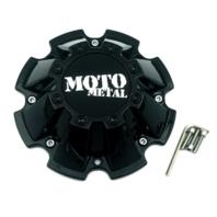 Moto Metal Gloss Black 8 Lug Center Cap fits MO962 MO200 M793BK01 CAP M-793