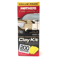Mothers California Gold Clay Bar Detailer Kit Paint Correction Saving 07240