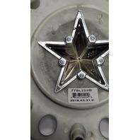 "KMC XD Series Rockstar Matte Black Center Cap 16"" 17"" Dually 775L239B A0157"