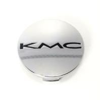 "KMC 701 Nova Wheel Center Hub Cap 490K57 A1084 Chrome 2 -3/16"""