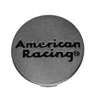 American Racing VN806 Anthracite Gray Snap In Wheel Center Hub Cap