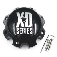 XD Series Gloss Black Center Cap 8 Lug XD808 Menace XD812 Crux XD813 Battalion