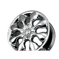 "EMO Alba Wheels Chrome 6"" Center Cap AL804 for 804 Emo Wheel"