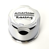 American Racing 134210000 Center Cap 3.42'' Diameter Chrome Plastic Snap In