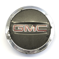 "GMC Arcadia Wheel Center Hub Cap 2010-2016 Gray 2-9/16"" OEM 9595010"