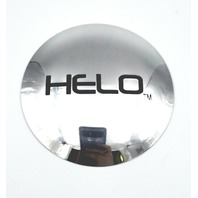 "Helo Chrome 8-Lug Wheel Center Hub Cap Logo Sticker for HE878 4-1/2"" Diameter"