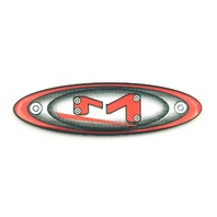 "Moto Metal 2 1/4"" Logo/Sticker 845L121B 5-Lug 5X4.5/4.75/5.0 Center Cap"