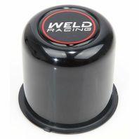 Weld Racing P605-5083B Push-Through 5-Lug Center Cap Black with Weld Logo