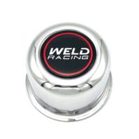 "Weld Racing 5 Lug Push Thru Center Cap Polished 3.16"" OD x 2.20"" Tall P605-5073"