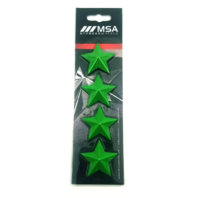 Set of 4 Green MSA Off-Road Wheels Center Cap Stars fits All MSA-CAP Styles