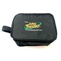 """Battery Tender Carrying Case Medium 6"""" x 8"""" Gear Bag 3.5"""" Deep Zipper Closure"""