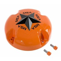 MSA Off-Road Wheels Orange Center Cap fits M38-M12 MSA-CAP Style Wheels