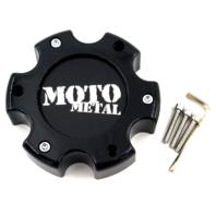 Moto Metal 909 957 959 Gloss Black 6 Lug 6x5.5 Wheel Center Cap P/N: MO909B6139B