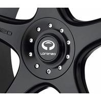 Lorenzo Satin Black Wheel Center Hub Cap 5x114.30/5x120.00 WL28