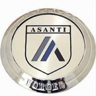 Asanti Forged Standard Floater Chrome Center Cap C-100FFACN