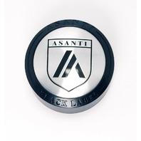 Asanti Black Label Satin Black Wheel Center Cap 5x4.75/5 for ABL15