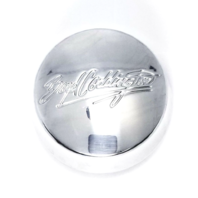 Boyd Coddington Polished Aluminum Wheel Center Cap w/ Oring 56311700F-1 BD212