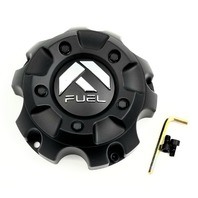 "Fuel Offroad Matte Black 5x150 Center Cap 18"" 20"" D568 D558 D557 Part # 1001-56B"