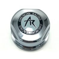 """American Racing Baja 3.07"""" Chrome Snap In Center Cap 1307100S for 6x5.5 GM Only"""