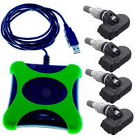 Alligator TPMS DIY Complete Kit German Quality w/ 4 Sensors and Programming Pad