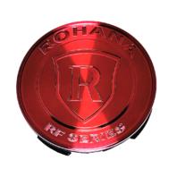 Rohana Gloss Red RF Series Wheel Center Cap Metal fits All Rohana Wheels