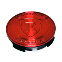 Rohana Gloss Red Wheel Center Cap Fits All Series and Styles of Wheels