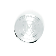 Rohana Brushed Titanium Wheel Center Cap Fits All RF RC Series
