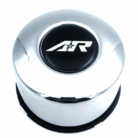 American Racing Chrome Push Thru Wheel Center Cap 4.25''/ 2.72'' Part# 1425092R