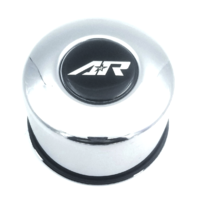 American Racing Chrome Push Thru Wheel Center Cap 4.25''/ 2.72'' Part# 1425092R